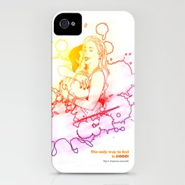 Feelgood. Tip 02 iPhone Case
