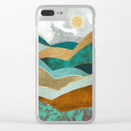 Golden Hills Clear iPhone Case