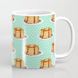 Pancakes & Dots Pattern Coffee Mug
