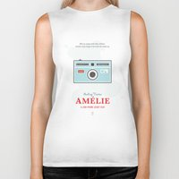 amelie Biker Tanks featuring Amelie by Smile In The Mind