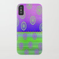 circles iPhone & iPod Cases featuring Circles by Fine Art by Rina