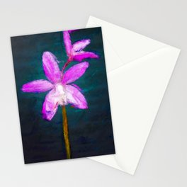Laelia ghillanyi Orchid Stationery Cards