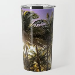 PURPLE AND GOLD SKIES Travel Mug