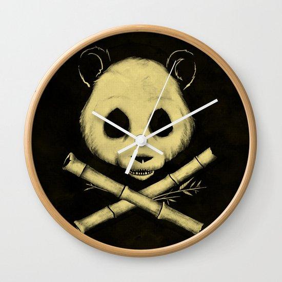 The Jolly Panda Wall Clock