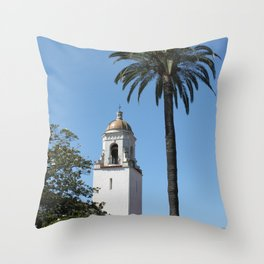 Unitarian Society of Santa Barbara Church Throw Pillow