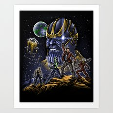 Dance Wars Art Print