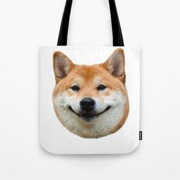 Shiba Smile Tote Bag