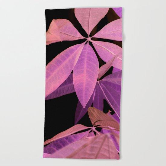 Pachira aquatica #2 #decor #art #society6 Beach Towel