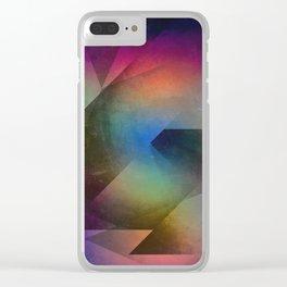 Cuts XX - Colour vs Form Clear iPhone Case