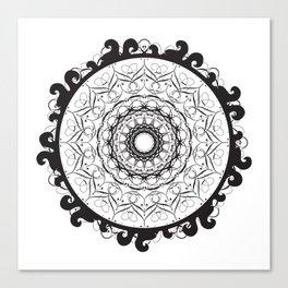 Winter Vortex Canvas Print