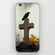 Gothic Glow Of Fall iPhone & iPod Skin