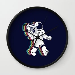 The Sound Of The Space Wall Clock