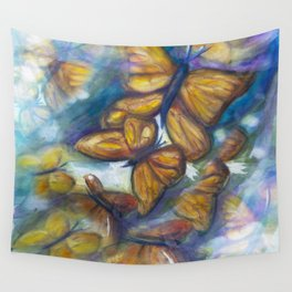 Shaded Wings Wall Tapestry