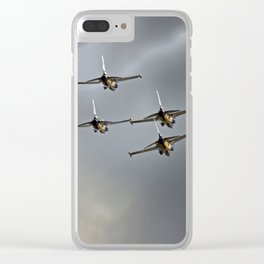 steel wasps Clear iPhone Case