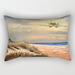 Supermarine Spitfire MK IX Aircraft Rectangular Pillow