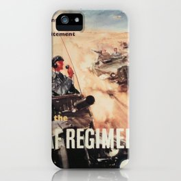 Vintage poster - Royal Air Force iPhone Case