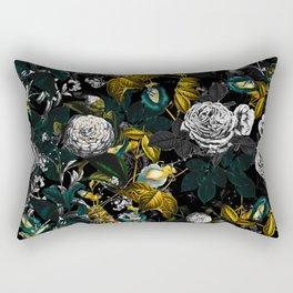 EXOTIC GARDEN - NIGHT Rectangular Pillow