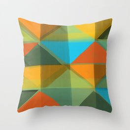 Harlequin 1 Throw Pillow