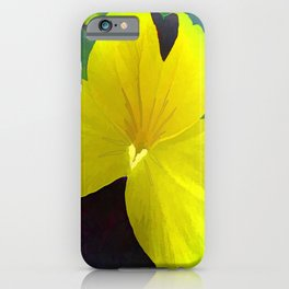 Looking Back and Moving On iPhone Case
