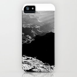 Sun Rays at the Grand Canyon  iPhone Case