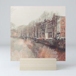 Flowers in Amsterdam ll Mini Art Print