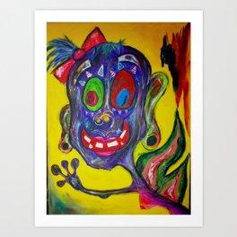 Monster Fairy Art Print