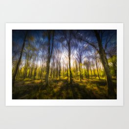 Storms Forest Art Turner Art Print