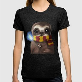 Hairy Potter Sloth T-shirt