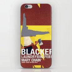 Mary Chain & Blacker band poster iPhone Skin