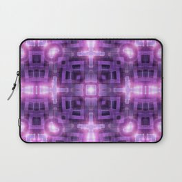 Pink Purple Squareza Laptop Sleeve
