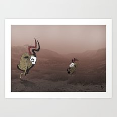 the monster in your life Art Print