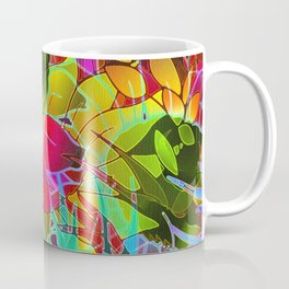 Floral Abstract Artwork G125 Coffee Mug