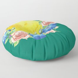 Roses are Pink Floor Pillow