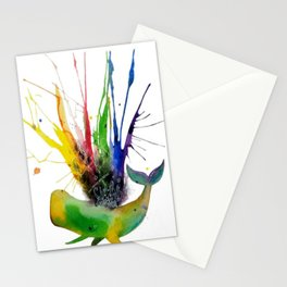 too many skittles..  Stationery Cards