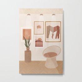 Cozy Gallery Metal Print