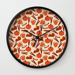 Pumpkin Fanatic Wall Clock