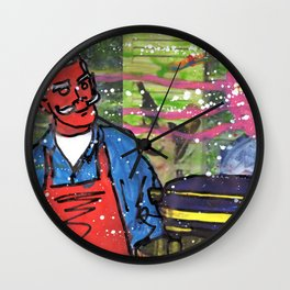 Demon Jaques and the Julia Specter Wall Clock