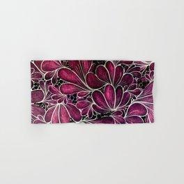 Funny Flowers Hand & Bath Towel