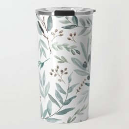 Eucalyptus pattern Travel Mug