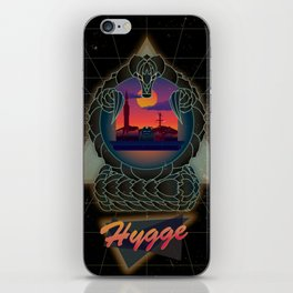 Hygge Retro iPhone Skin