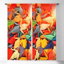 Senbazuru rainbow Blackout Curtain