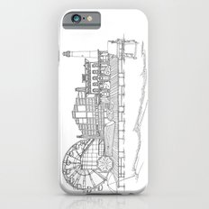The Jersey Shore by the Downtown Doodler iPhone 6s Slim Case
