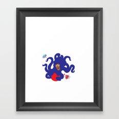 LADYMON Framed Art Print