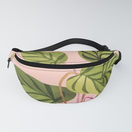 Upstart / Tropical Plant Fanny Pack