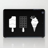ice cream iPad Cases featuring ice-cream  by Li9z