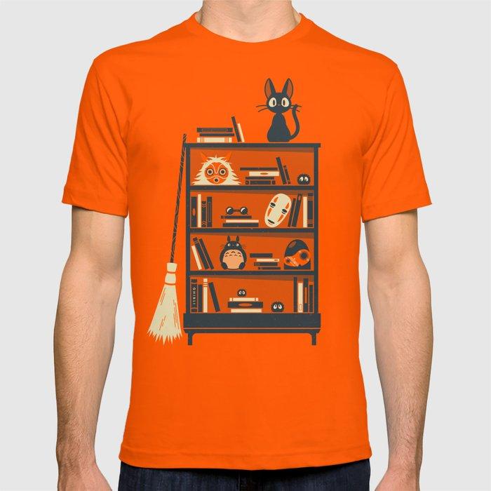Ghibli Shelf // Miyazaki T-shirt