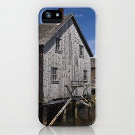 Lunenburg Dory Shop iPhone Case