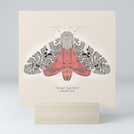 Painted Tiger Moth Mini Art Print