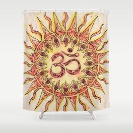 Summer Om Shower Curtain