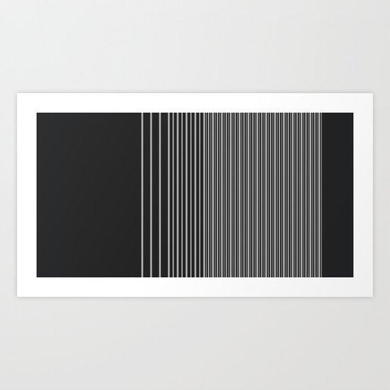 Gradient-B. Art Print